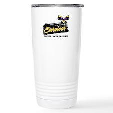 Bladder Cancer Survivor Travel Mug