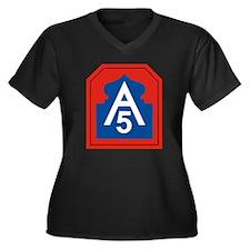 Funny Ipod Women's Plus Size V-Neck Dark T-Shirt
