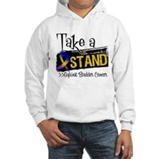 Take a Stand Bladder Cancer Hoodie