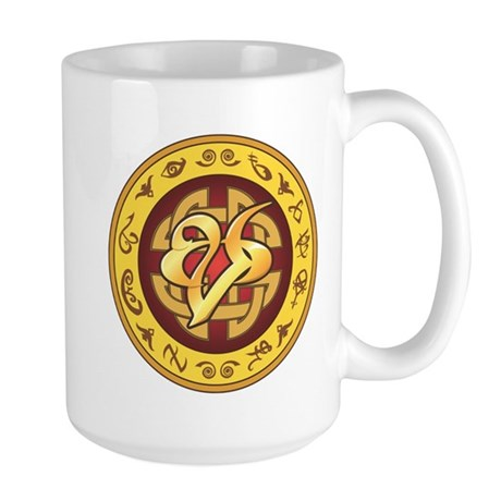 """Mourning"" Rune - Large Mug"