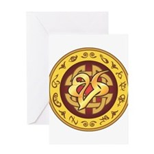 """Mourning"" Rune - Greeting Card"