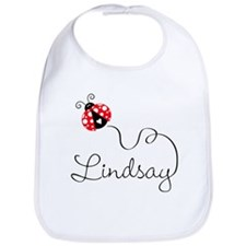 Ladybug Lindsay Bib
