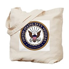 US Navy Veteran Proud to Have Served Tote Bag