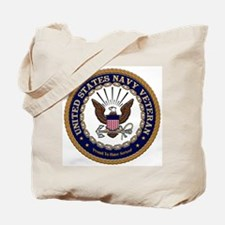 US Navy Veteran Proud to Have Served Tote Bag