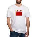 CCCP Soviet Banner Fitted T-Shirt