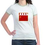 CCCP Soviet Banner Jr. Ringer T-Shirt