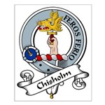 Chisholm Clan Badge Small Poster