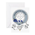 Cheyne Clan Badge Greeting Cards (Pk of 10)