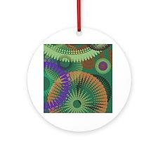 Unique Christmas hippie Ornament (Round)