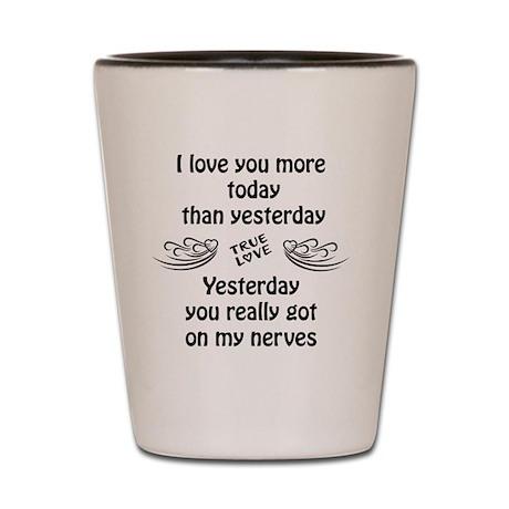 cute funny wedding sayings on shot glass