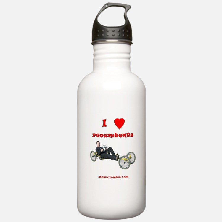 Water Bottle - I Love Recumbents