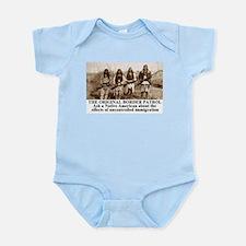 Unique Border patrol Infant Bodysuit