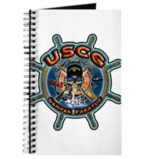 USCG Coast Guard Skull Journal