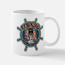 USCG Coast Guard Skull Mug