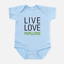 Live Love Papillons Infant Bodysuit