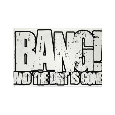 Bang Rectangle Magnet
