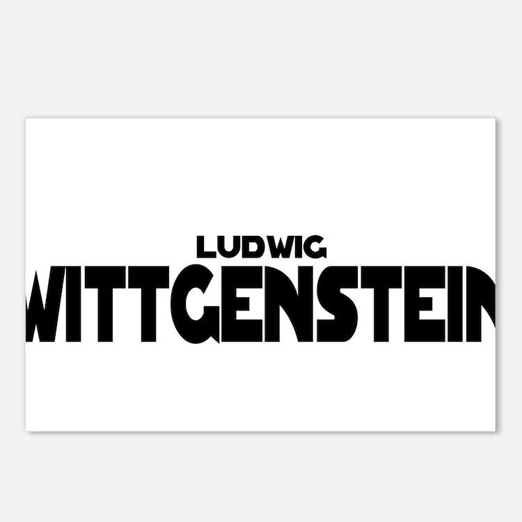 Ludwig Wittgenstein Postcards (Package of 8)