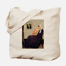 Mom's Red Abyssinian Tote Bag