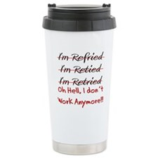 retired teacher Travel Mug