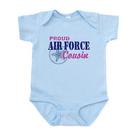 Proud Air Force Cousin Infant Bodysuit