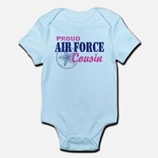 Proud Air Force Cousin Infant Bodysuit