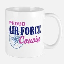 Proud Air Force Cousin Mug