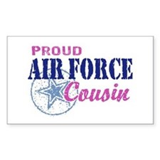 Proud Air Force Cousin Decal