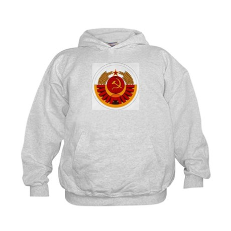 USSR Cosmonaut Kids Hoodie