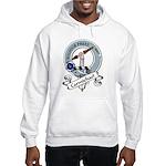 Carmichael Clan Badge Hooded Sweatshirt
