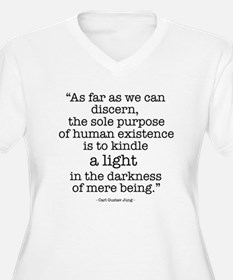 'To kindle light' quote by Ju T-Shirt
