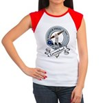 Carmichael Clan Badge Women's Cap Sleeve T-Shirt