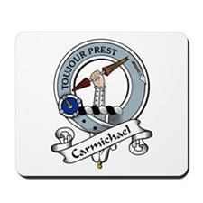 Carmichael Clan Badge Mousepad