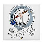 Carmichael Clan Badge Tile Coaster