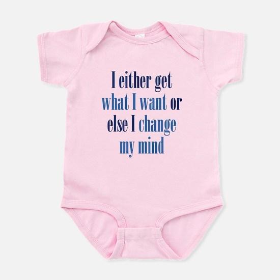 Change My Mind Infant Bodysuit