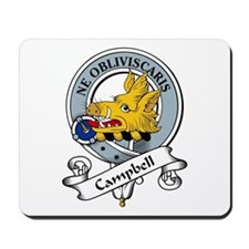 Campbell Clan Badge Mousepad