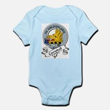 Campbell Clan Badge Infant Creeper