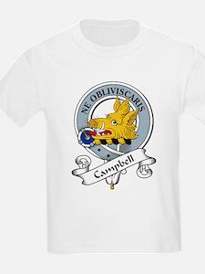 Campbell Clan Badge Kids T-Shirt