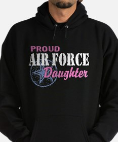 Proud Air Force Daughter Hoodie