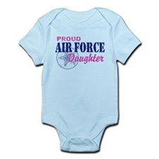 Proud Air Force Daughter Infant Bodysuit