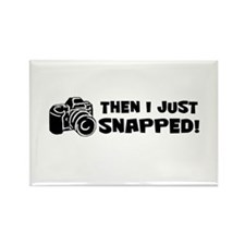 SNAPPED! Rectangle Magnet
