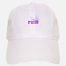 run Baseball Baseball Cap