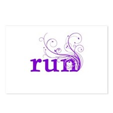run Postcards (Package of 8)