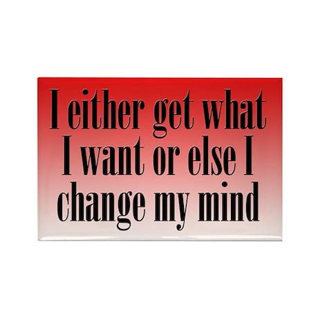Change My Mind Rectangle Magnet (100 pack)