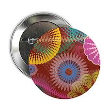 """Unique Christmas hippie 2.25"""" Button"""