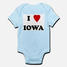 I Love Iowa Infant Creeper