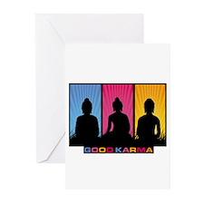 Good Karma Buddhas Greeting Cards (Pk of 10)