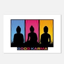 Good Karma Buddhas Postcards (Package of 8)