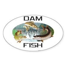 Dam Fish Decal