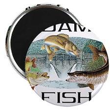 Dam Fish Magnet
