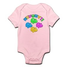 Cute Hungry hungry hippo Infant Bodysuit